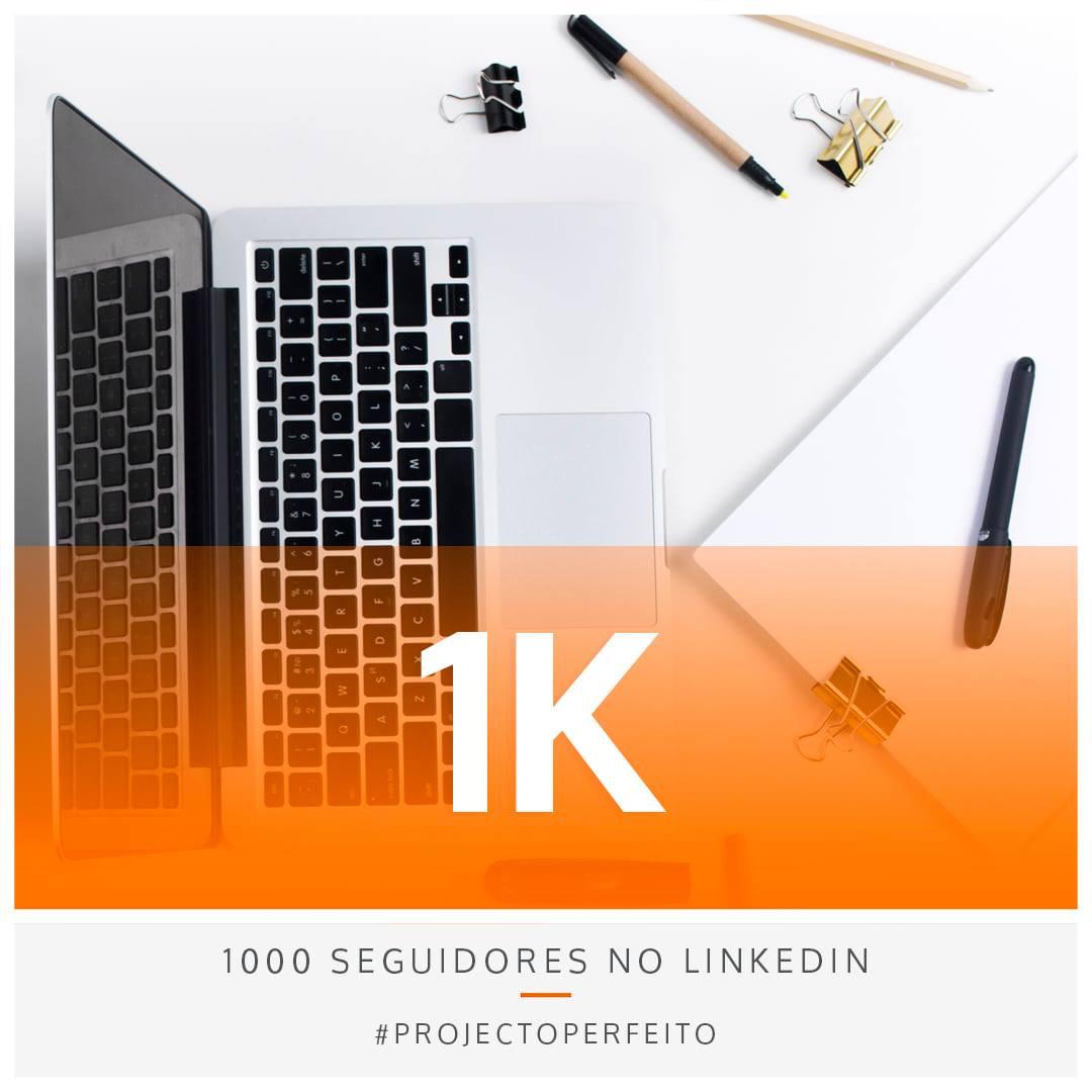 1.000 seguidores no linkedin