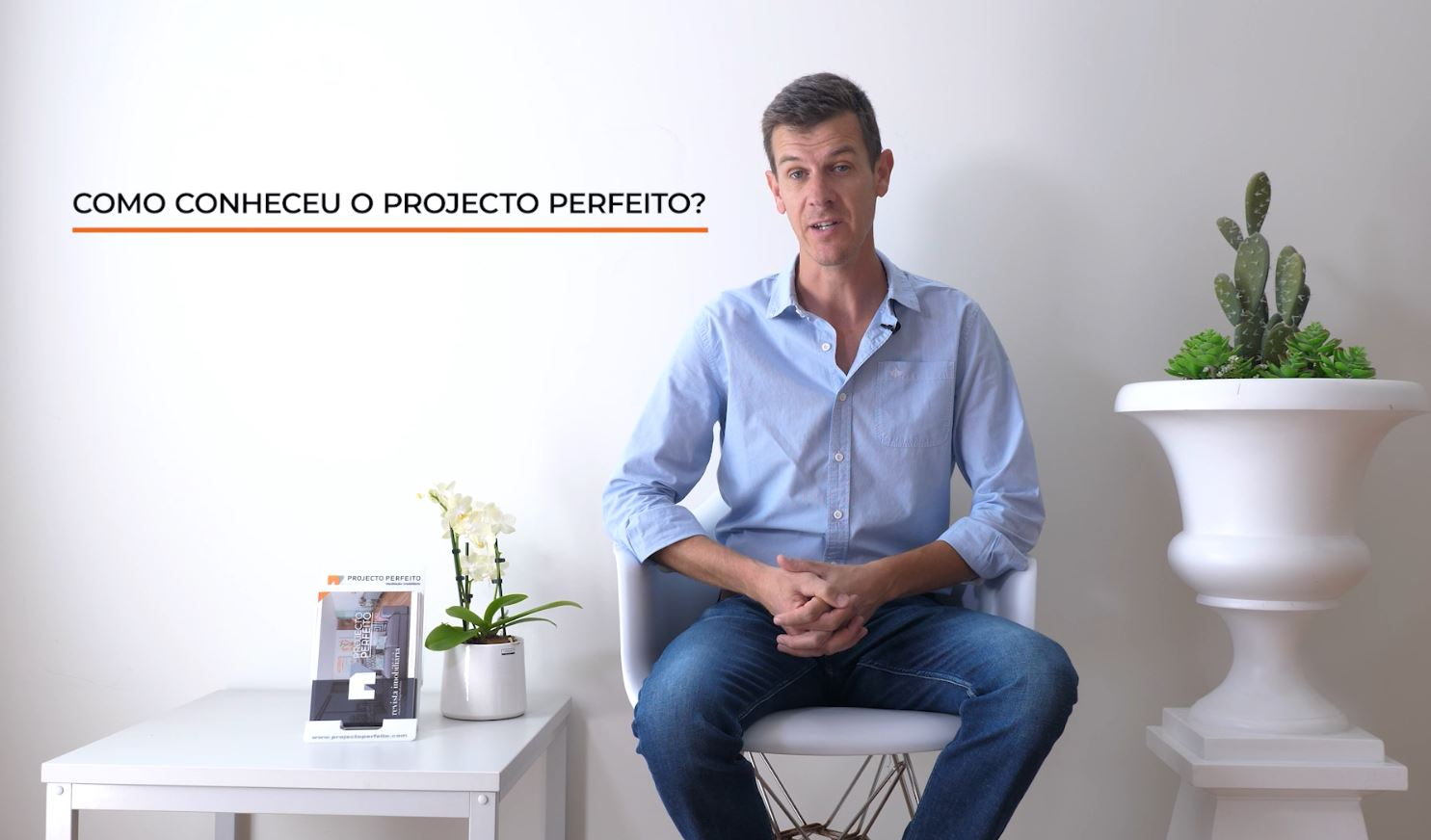 Como conheceu o #ProjectoPerfeito? - António Lessa